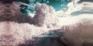 Wolken pastell