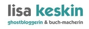 Logo Lisa Keskin Ghostwriter Ghostblogger Workshopper
