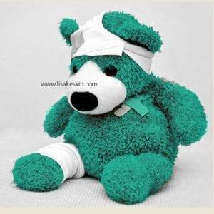 teddy verletzt