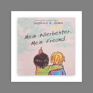 Buchcover Siegfried Göken_Mein Allerbester. Mein Freund.