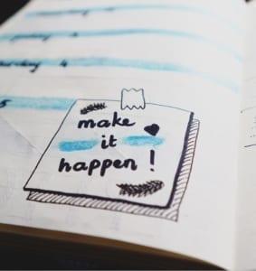make it happen schrift
