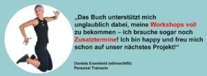 Testimonial, springende Frau ellimachtfit
