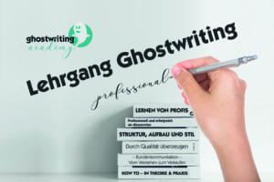 Ghostwriter Lehrgang Wien 2020