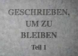 engraved tafel schrift
